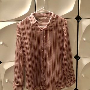 Tops - One size strip blouse